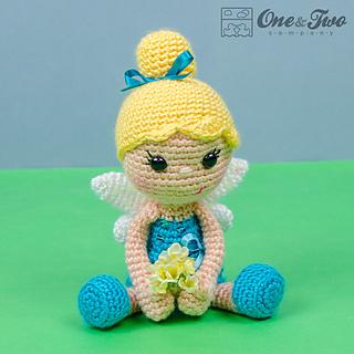 Amigurumi Crochet Needle Size : Ravelry: Ella the Fairy Amigurumi pattern by Carolina Guzman