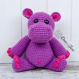 Amigurumi Crochet Size : Ravelry: Pip the Hippo Amigurumi pattern by Carolina Guzman