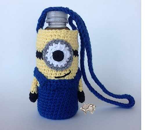 Ravelry Minion Water Bottle Holder Pattern By Paisley
