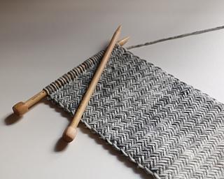 Ravelry Herringbone Knit Scarf Pattern By Kaitlin Blasing