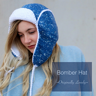 Ravelry  Bomber Hat pattern by Kaitlin Blasing 864e7e87b6a