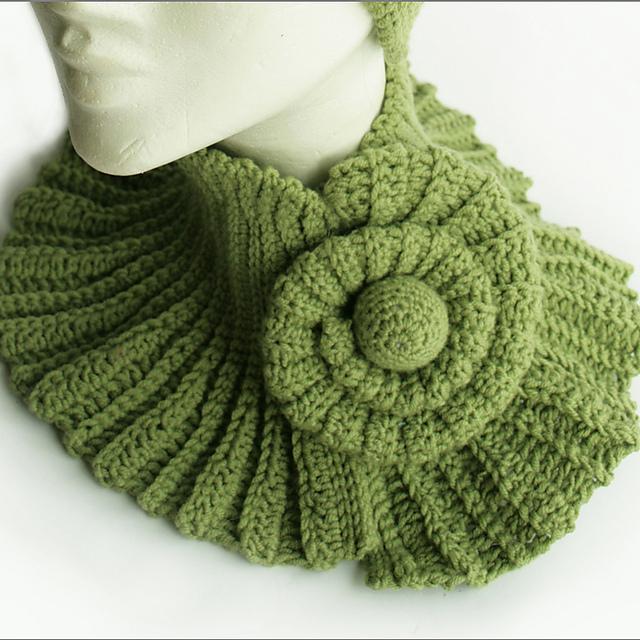 Ravelry: cowl snail Halswärmer Schnecke orimono pattern by orimono ...