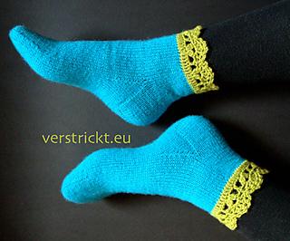 Ravelry Häkelborten Socken Deutsch Pattern By Andrea Delhey