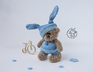 Ravelry Bear In A Bunny Suit Pattern By Morgunova Olga