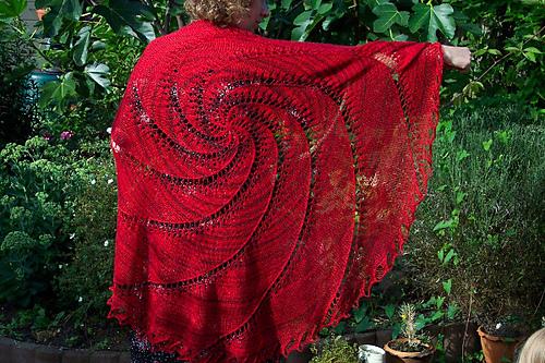 Ravelry Vortex Shawl Pattern By Kristina Mccurley