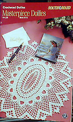 Ravelry South Maid J16 Book 0115 Crocheted Doilies Masterpiece
