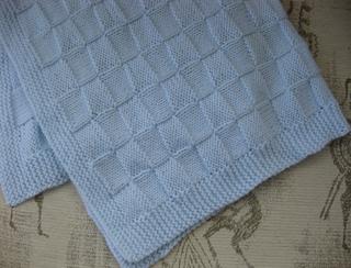 Knitting Pattern For Incubator Blanket : Ravelry: Incubator Blanket pattern by Debbie Bliss