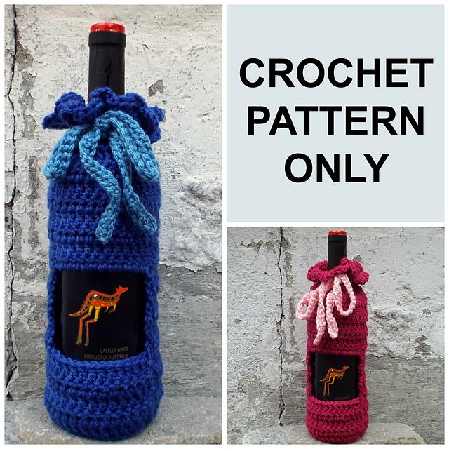 Ravelry Wine Bottle Cozy Pattern By Patti Talbot