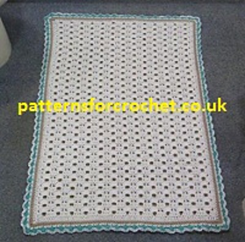 Ravelry Pfc31 Bathroom Rug Pattern By Patternsfor Designs
