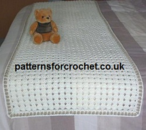 Ravelry Pfc33 Free Bed Runner Pattern By Patternsfor Designs