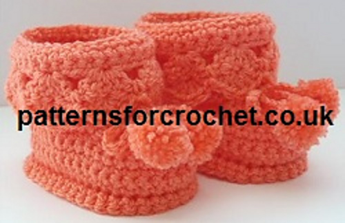 Ravelry Pfc40 Booties For Best Pattern By Patternsfor Designs