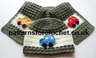 Ravelry Pfc57 Childs Hat Scarf Pattern By Patterns For Crochet