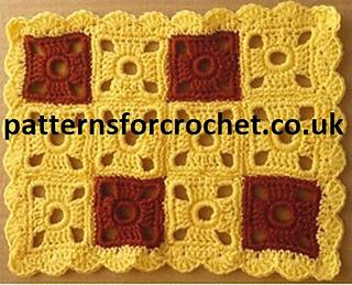 Ravelry: PFC07 Table Runner pattern by Patterns for Crochet
