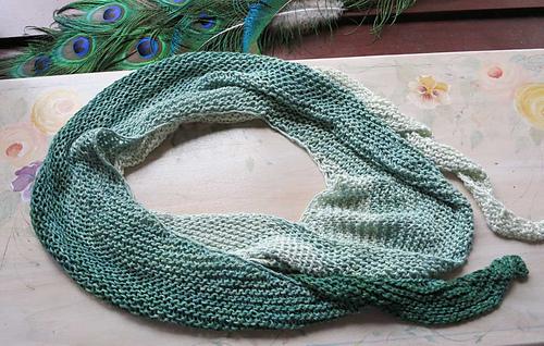 Ravelry Nautilus Spiral Scarf Pattern By Dena Stelly