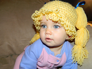 Ravelry  Cabbage Patch Kid Beanie pattern by Debi Dearest 86d9adb0482