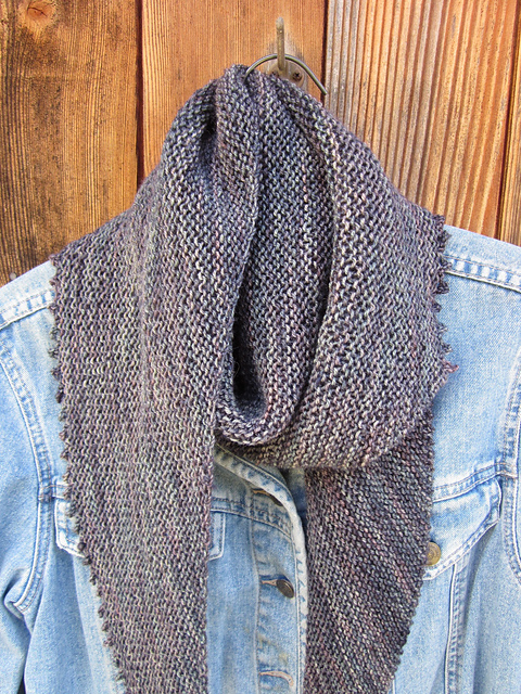 Ravelry: Be Simple Shawl pattern by Carolyn Glauz-Todrank