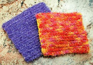 Ravelry: Double-Sided Scrubby Dishcloth pattern by Kara Gunza