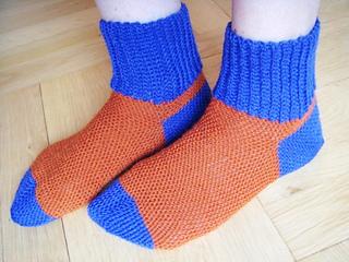 Ravelry Basic Easy Slip Stitch Socks Besss Pattern By Petra