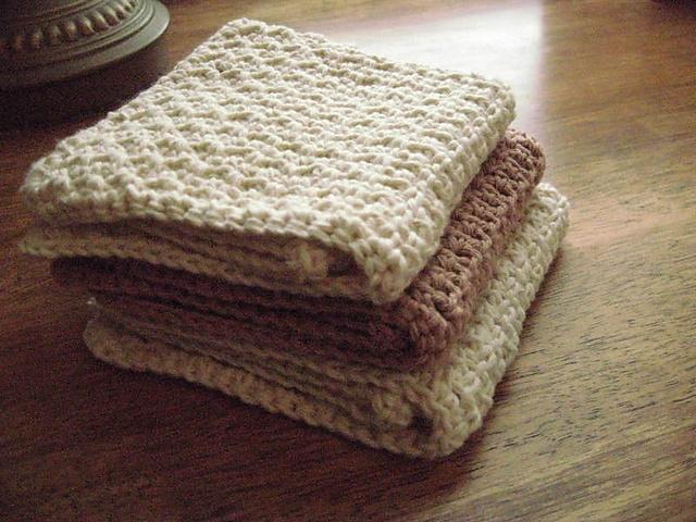 Ravelry Dishcloths P148439 Pattern By Lily Sugarn Cream