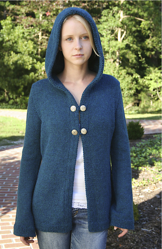 ad1390ab010ab Ravelry   101 Classic Hoodie Jacket pattern by Phoenix Bess