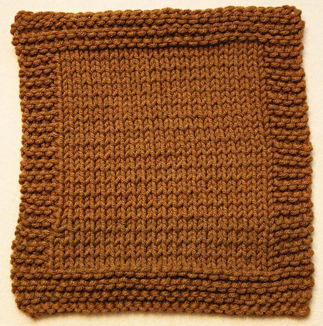 Ravelry Knooking 102 Garter Stitch Washcloth Pattern By Jennifer