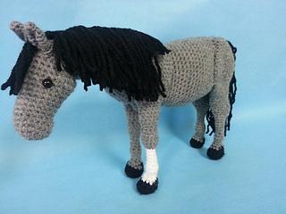 Ravelry The Perfect Horse Realistic Amigurumi Crochet Pattern