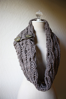 Rusticale Cowl / Wrap pattern by Brenda Lavell