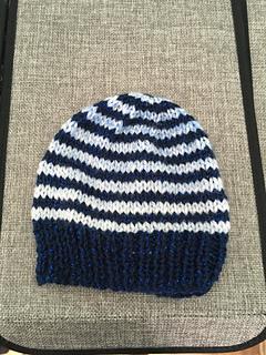 0b668c6b Simple Stripes Baby Hat & Mittens pattern by marianna mel - Ravelry