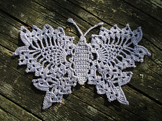 Ravelry Delicate Crochet Butterfly Pattern By Anne Halliday