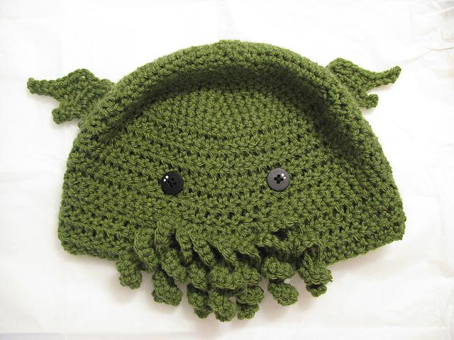 Ravelry Cthulhu Toque Original Crochet Pattern Pattern By Lesley