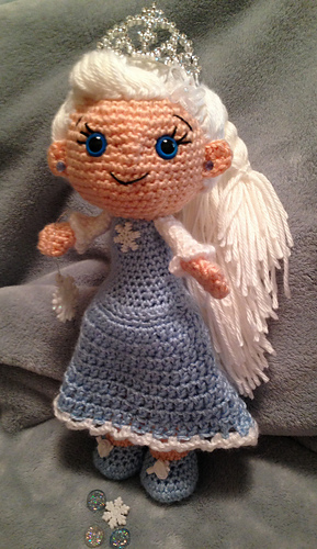 Gauge To Mm >> Ravelry: Ice Princess pattern by PJ Crafts in Austin