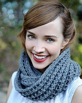 Dusty_snood_knitting_kit_worn_as_scarf_small_best_fit