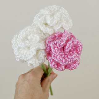 Ravelry Carnations Pattern By June Gilbank
