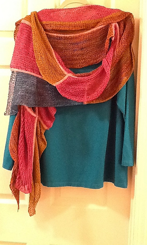 Ravelry Waterfall Scarf Pattern By Gina Wilde