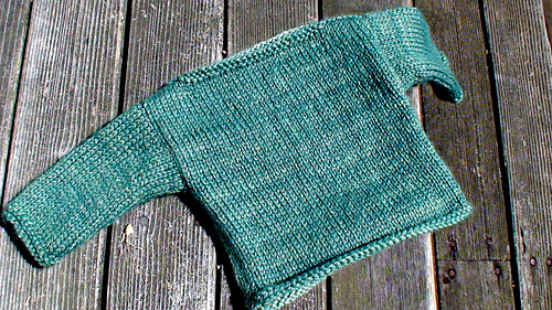 Knitting Baby Sweater For Beginners