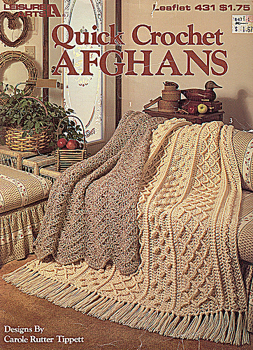 Ravelry Leisure Arts 431 Quick Crochet Afghans Patterns