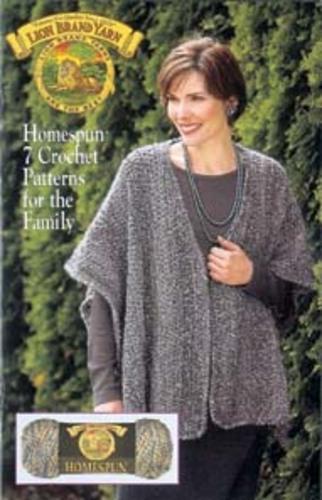 Ravelry Lion Brand Yarn 79903 Homespun 7 Crochet Patterns For
