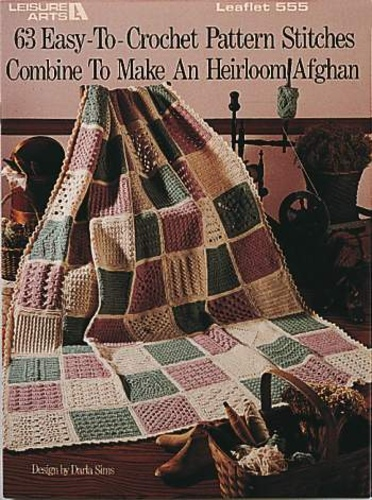 Ravelry Leisure Arts 555 63 Easy To Crochet Pattern Stitches