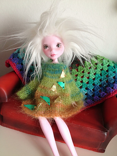 ravelry airy fairy tunic dress and vinyl skirt for 12