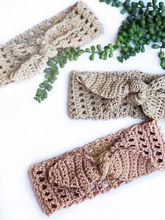The Bradenton Headband pattern by Megan Valenti