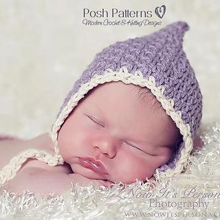 Ravelry: Vintage Style Baby Pixie Hat Crochet Pattern 266 ...