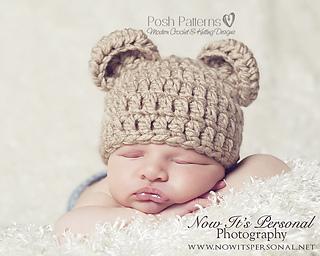 Newborn teddy bear hat crochet pattern 12 newborn crochet hat hd image of ravelry baby bear hat crochet pattern 214 pattern by posh patterns dt1010fo