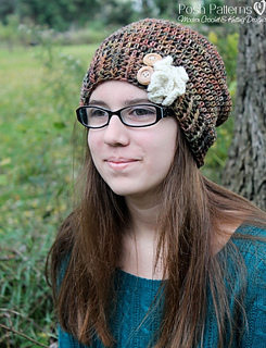 290fef01f2f Slouchy Hat   Ruffle 219  by Posh Patterns