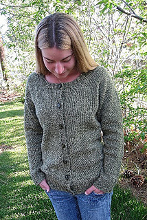 a927fb9bd Ravelry    278 Neck Down Scoop Neck Cardigan pattern by Diane Soucy