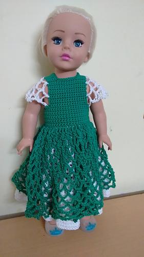 Ravelry American Girl Doll Princess Dress Pattern By