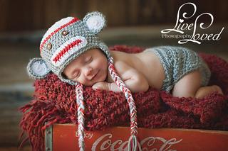 Ravelry Sock Monkey Hat And Diaper Cover Pattern By Olesya Pronyaeva