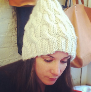 Ravelry  Super Soft Merino Chunky Cable Hat pattern by Purl Soho 23d4ca13dc9