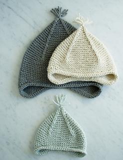 bef8ee2b2f0 Ravelry  Garter Ear Flap Hat pattern by Purl Soho