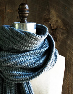 Ravelry No Purl Ribbed Scarf Pattern By Purl Soho