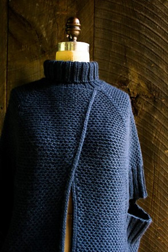 Ravelry City Cape Pattern By Purl Soho